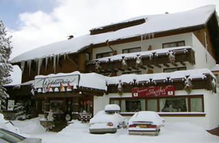 Austria, Arlberg, Schröcken, Hotel Widderstein