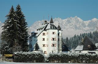 Austria, Kitzbuhel Alps, Münichau, Hotel Schloss Münichau