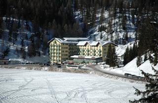 Italy, Cortina d'Ampezzo, Misurina, Hotel Grand Misurina