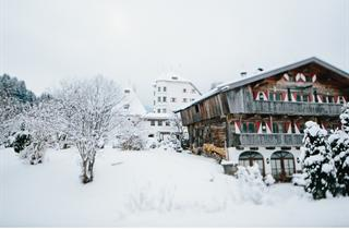 Austria, Kitzbuhel Alps, Münichau, Chalet Schloss Münichau