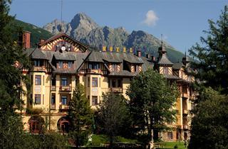 Slovakia, Hrebienok-Stary Smokovec, Vysoké Tatry, Grandhotel Stary Smokovec