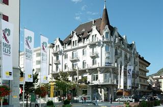 Switzerland, Grachen - Matterhorn Valley, Brig, Hotel Victoria