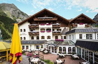 Austria, Pitztal, St. Leonhard im Pitztal, Hotel Mittagskogel