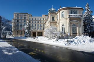 Switzerland, St. Moritz – Engadin, St. Moritz, Hotel Reine Victoria