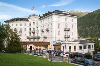 Switzerland, St. Moritz – Engadin, Samedan, Hotel Bernina