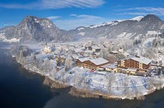 Austria, Kaiserwinkl, Walchsee, Apartments Ferienclub Bellevue am See