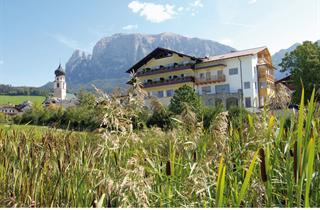 Italy, Alpe di Siusi, Fiè, Gartenhotel Völser Hof