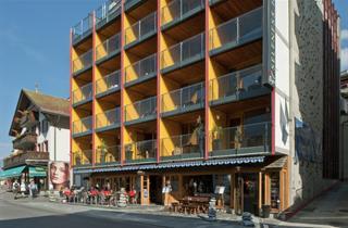 Switzerland, Jungfrau, Grindelwald, Aparthotel Eiger