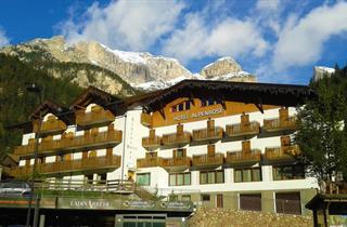 Italy, Val di Fassa - Carezza, Mazzin di Fassa, Hotel Alpenrose