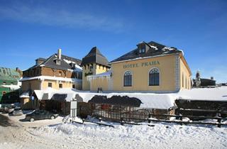 Czech Republic, Klinovec, Boží Dar, Hotel Praha