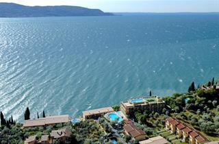 Italy, Lake Garda, Toscolano Maderno, Villaggio Piccolo Paradiso