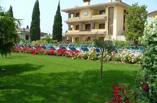 Italy, Lake Garda, Sirmione, Hotel Gardenia