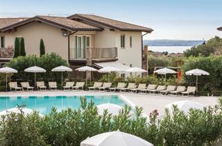 Italy, Lake Garda, Moniga del Garda, Falkensteiner Apartments Lake Garda