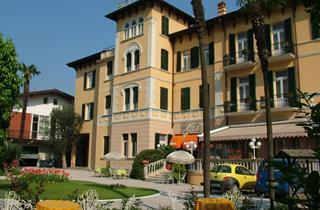 Italy, Lake Garda, Toscolano Maderno, Hotel Maderno