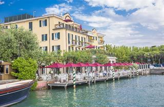Italy, Lake Garda, Sirmione, Hotel Sirmione e Promessi Sposi