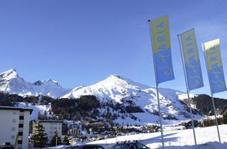 Switzerland, Davos - Klosters, Davos, Village Solaria