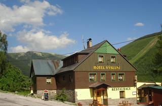 Czech Republic, Spindleruv Mlyn, Špindlerův Mlýn, Hotel Vysluni
