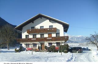 Austria, Zillertal, Ried im Zillertal, Hotel Erlerhof