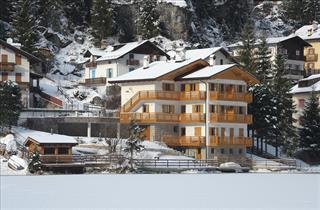 Italy, Civetta, Alleghe, Apartments Edelweiss