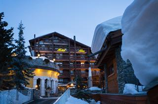 Switzerland, Zermatt, Hotel Alex