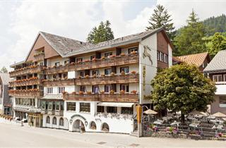 Switzerland, Oberes Toggenburg, Wildhaus - Unterwasser, Hotel Hirschen