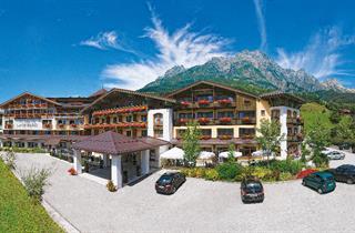 Austria, Saalbach Hinterglemm Leogang Fieberbrunn, Leogang, Hotel Leonhard