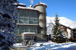 Switzerland, Grachen - Matterhorn Valley, Grächen, Turm Hotel Grächerhof