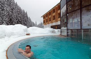 Austria, Defereggental Osttirol, Hopfgarten in Defereggen, Spa Hotel Zedern Klang