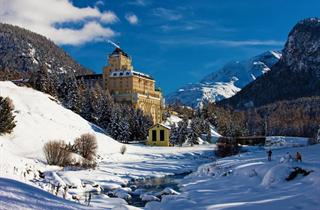 Switzerland, St. Moritz – Engadin, Pontresina, Hotel Schloss Family & Spa