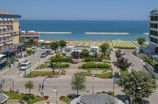 Italy, Central Adriatic Riviera, Gabicce Mare, Hotel Losanna