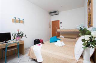 Italy, Central Adriatic Riviera, Cesenatico, Hotel Esperia