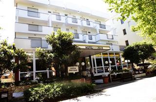 Italy, Central Adriatic Riviera, Rimini, Hotel New Jolie