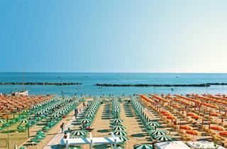 Italy, Central Adriatic Riviera, Gabicce Mare, Hotel Strand