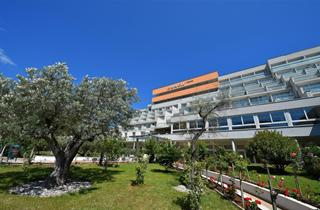 Croatia, Istria, Rabac, Hotel Narcis