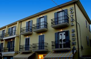 Italy, Central Adriatic Riviera, Martinsicuro, Hotel Bruna