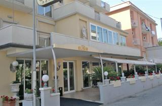 Italy, Central Adriatic Riviera, Rimini, Hotel Elisir