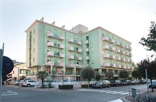 Italy, Central Adriatic Riviera, Cesenatico, Hotel Abacus