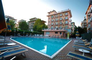 Italy, Central Adriatic Riviera, Cesenatico, Hotel Abarth