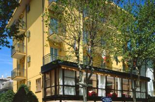 Italy, Central Adriatic Riviera, Rimini, Hotel Busignani