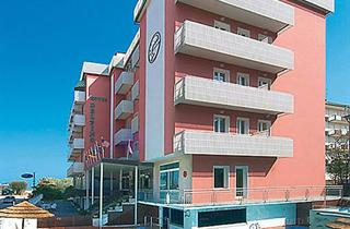 Italy, Central Adriatic Riviera, Cervia, Hotel Delfino