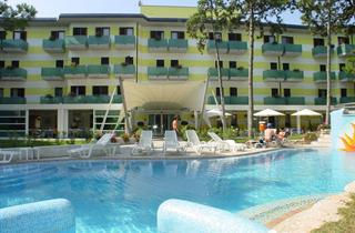Italy, Northern Adriatic Riviera, Lignano Sabbiadoro, Hotel Mediterraneo