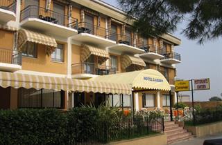 Italy, Lake Garda, Toscolano Maderno, Hotel Garden