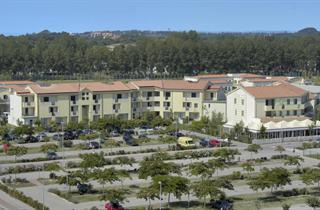 Italy, Northern Adriatic Riviera, Caorle, Apartment Residence Robinia e Pinetine
