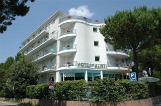 Italy, Northern Adriatic Riviera, Lignano Sabbiadoro, Hotel Alisei