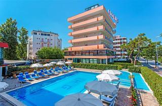 Italy, Central Adriatic Riviera, Cesenatico, Hotel Globus