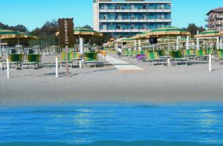 Italy, Central Adriatic Riviera, Cervia, Hotel Bristol