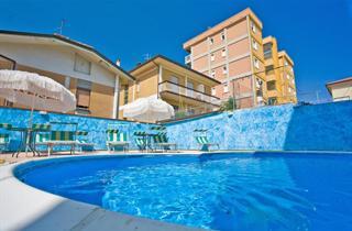 Italy, Central Adriatic Riviera, Cesenatico, Hotel Astor