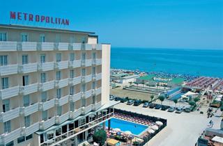 Italy, Central Adriatic Riviera, Cervia, Hotel Metropolitan