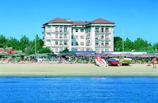 Italy, Central Adriatic Riviera, Cervia, Hotel Lungomare
