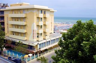 Italy, Central Adriatic Riviera, Rimini, Hotel Artide